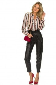 ELISABETTA FRANCHI |  Blouse with print Nero | black  | Picture 3