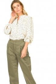 Sofie Schnoor    Dotted blouse Malikka   white     Picture 2