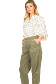 Sofie Schnoor    Dotted blouse Malikka   white     Picture 6