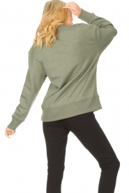 Lune Active |  Basic sweater Kylie | green  | Picture 6
