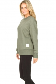 Lune Active |  Basic sweater Kylie | green  | Picture 5