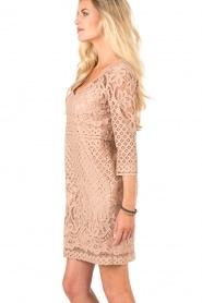 Atos Lombardini | Kanten jurk Avera | roze   | Afbeelding 4