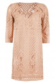 Atos Lombardini | Kanten jurk Avera | roze   | Afbeelding 1