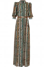 ELISABETTA FRANCHI |  Striped maxi dress Kelsi | multi  | Picture 1