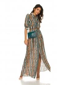 ELISABETTA FRANCHI |  Striped maxi dress Kelsi | multi  | Picture 3