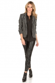 IKKS |  Blazer Stef | black/white  | Picture 3