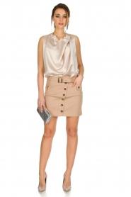 Atos Lombardini |  Skirt Jola | beige  | Picture 3