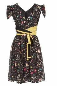 ELISABETTA FRANCHI |  Printed dress Jaelle | black  | Picture 1