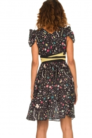 ELISABETTA FRANCHI |  Printed dress Jaelle | black  | Picture 6