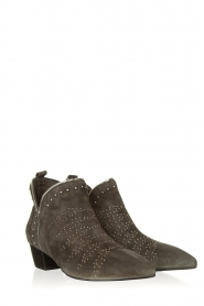 Sofie Schnoor |  Suede studded ankle boots Lilly | grey  | Picture 3