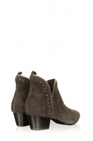 Sofie Schnoor |  Suede studded ankle boots Lilly | grey  | Picture 4