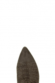 Sofie Schnoor |  Suede studded ankle boots Lilly | grey  | Picture 5
