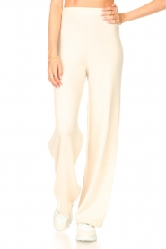 Be Pure |  Knitted pants Louise | natural  | Picture 4