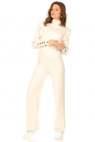Be Pure |  Knitted pants Louise | natural  | Picture 3