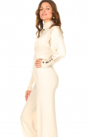 Be Pure |  Turtleneck sweater with shoulder details Dolly | beige  | Picture 6