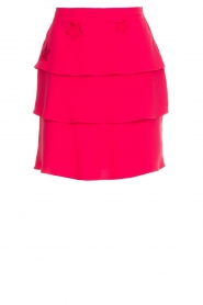 ELISABETTA FRANCHI |  Ruffle skirt Beaudine | pink  | Picture 1