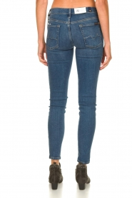 7 For All Mankind |  Jeans with  rhinestones Slim | blue  | Picture 7