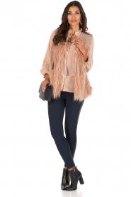 Atos Lombardini | Bow tie blouse Ella | roze  | Afbeelding 3