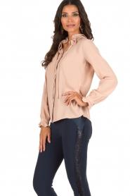 Atos Lombardini | Bow tie blouse Ella | roze  | Afbeelding 4