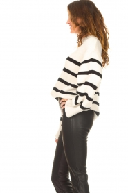 Be Pure    Knitted stripe sweater Josy   natural    Picture 5