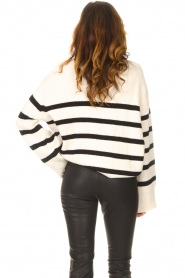 Be Pure    Knitted stripe sweater Josy   natural    Picture 6