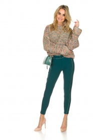 ELISABETTA FRANCHI | Trousers Aimee | green  | Picture 2