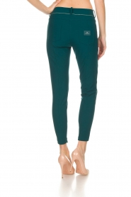 ELISABETTA FRANCHI | Trousers Aimee | green  | Picture 5