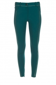 ELISABETTA FRANCHI | Trousers Aimee | green  | Picture 1
