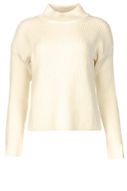 Be Pure |  Knitted sweater Billy | natural  | Picture 1