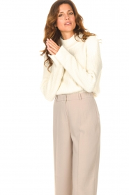 Be Pure |  Knitted sweater Billy | natural  | Picture 2