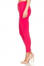 ELISABETTA FRANCHI | Skinny jeans met ketting Loveo | roze  | Afbeelding 4