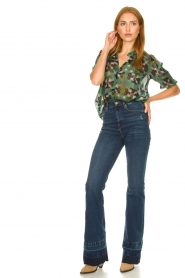 7 For All Mankind :  Wide flared jeans Lisha | blue - img2