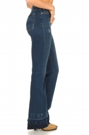 7 For All Mankind :  Wide flared jeans Lisha | blue - img5