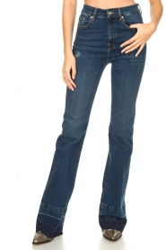 7 For All Mankind |  Wide flared jeans Lisha | blue  | Picture 5