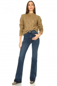 7 For All Mankind |  Wide flared jeans Lisha | blue  | Picture 4