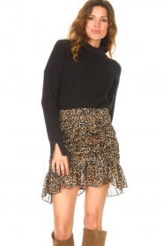 Be Pure |  Knitted sweater Billy | black  | Picture 2