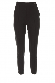 ELISABETTA FRANCHI | Pantalon Dyana | zwart  | Afbeelding 1