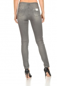 ELISABETTA FRANCHI |  Skinny jeans with paint splatter Rita | grey  | Picture 6