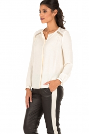 Sessun | Blouse Do me | naturel  | Afbeelding 4