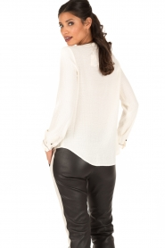 Sessun | Blouse Do me | naturel  | Afbeelding 5