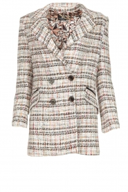 Bouclé coat Burro | multi