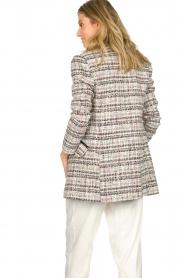ELISABETTA FRANCHI |  Bouclé coat Burro | multi  | Picture 6