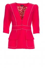 ELISABETTA FRANCHI |  Blazer Gaby | pink  | Picture 1
