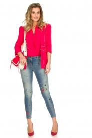 ELISABETTA FRANCHI |  Blazer Gaby | pink  | Picture 3