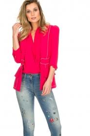 ELISABETTA FRANCHI |  Blazer Gaby | pink  | Picture 2
