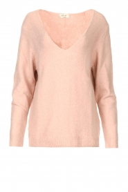Be Pure    Knitted V-neck sweater Lilly   nude    Picture 1
