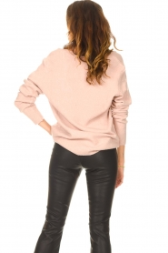 Be Pure    Knitted V-neck sweater Lilly   nude    Picture 6