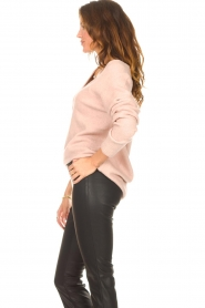 Be Pure    Knitted V-neck sweater Lilly   nude    Picture 5