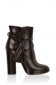 Leather ankle boots Victoria | black