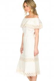 Antik Batik | Maxi-jurk Julietta | naturel  | Afbeelding 4